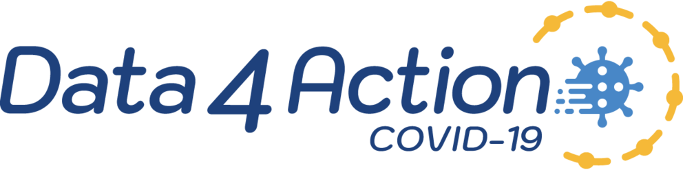 Data 4(four) Action COVID-19 banner