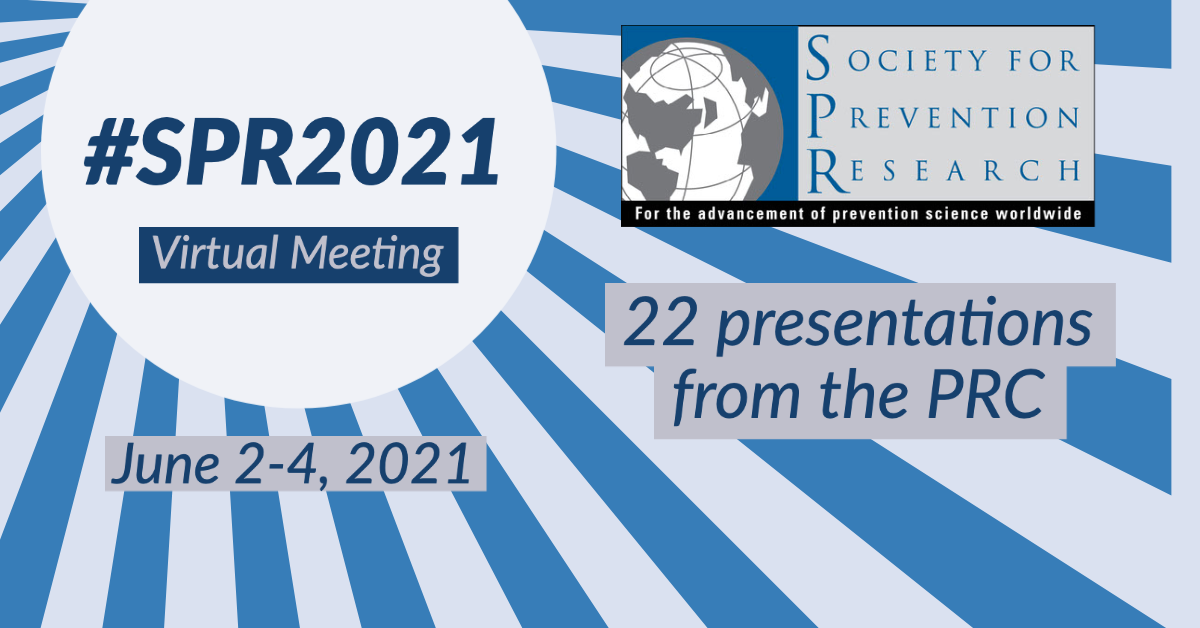 SPR Annual meeting June 2-4 with 21 presentations from the PRC