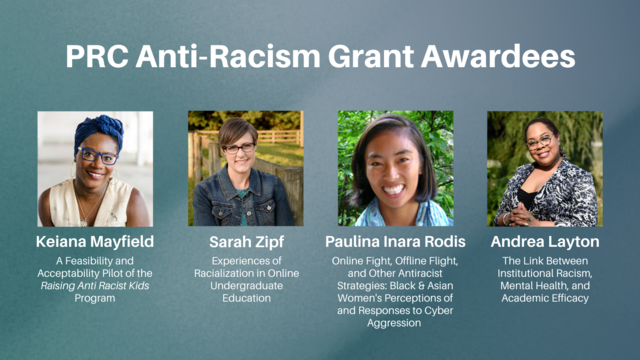 Racism Research grant recipients