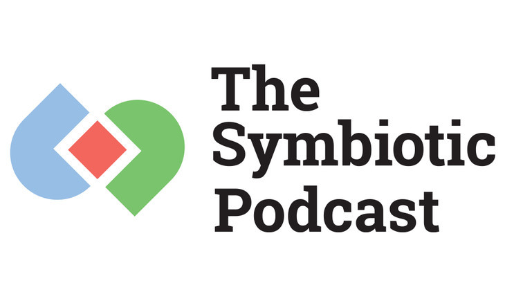 """Image of """"The Symbiotic Podcast"""" logo"""